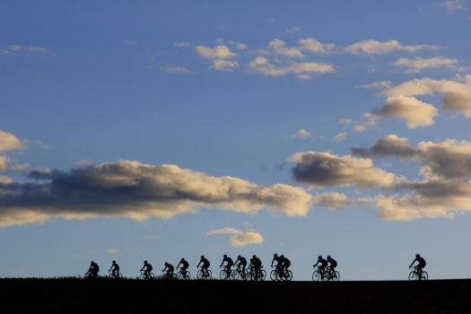 Evening Race in Nevada by sellsworth