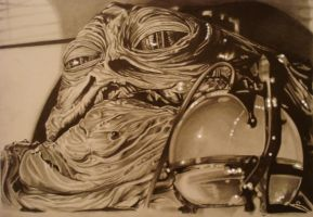 JABBA THE HUTT by ARTIEFISHEL79