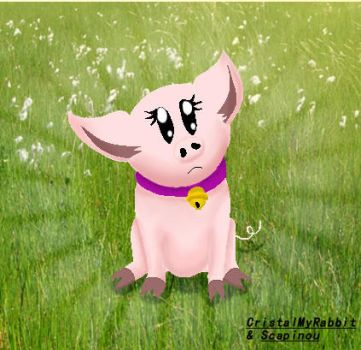 Cute Pig by Scapinou