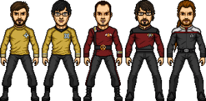 Deviant Trek Micros by SpiderTrekfan616