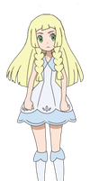 Lillie without her hat by Wildcat1999