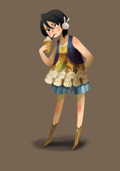 Casual Rukia by Adventure-of-Moc