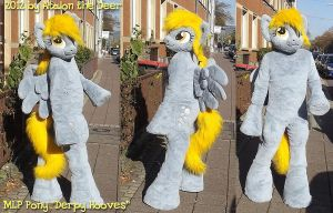 MLP Pony Horse Derpy Horse Fursuit by AtalontheDeer