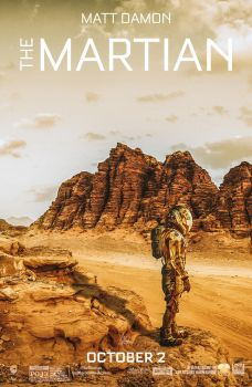 The Martian - Poster by Visutox