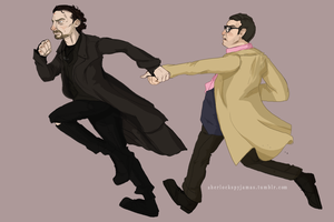 The World's End: Gary and Andy by ShazTheRaz