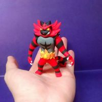 Incineroar Clay Pokemon Sun Pokemon Moon