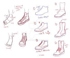 shoes guide by AngelKite