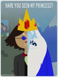 Simon Petrikov and The Ice King by retro-vertigo