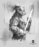 20140728 Knight by psdeluxe