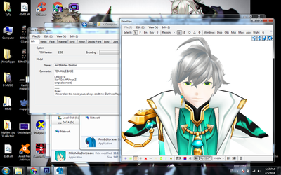 [MMD-Elsword] Ain's face by Darknessmagician