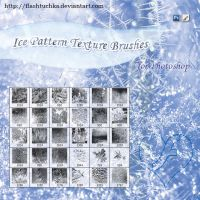 Ice Patterns Texture Brushes by flashtuchka