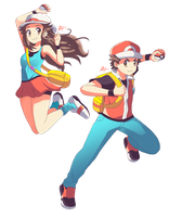 Pokemon Trainers are back in Smash! by HarlequinWaffles