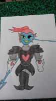 Undyne The Undying  by Superfluffy28