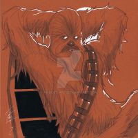 12x12 Chewbacca SLC by Hodges-Art