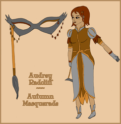 SMV Masque reference-Audrey Radcliff by DragonicSoul