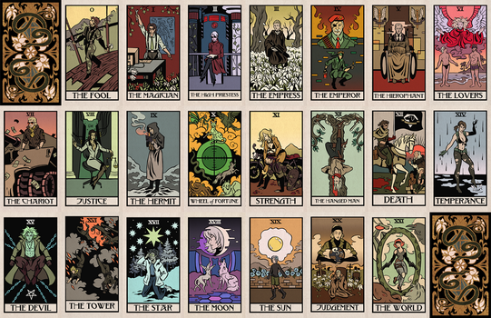 Metal Gear Tarot by cryptosilver