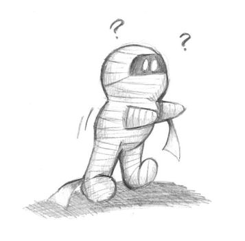 Chibi Mummy by Butterscotch25