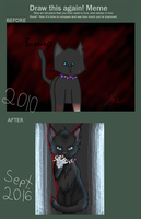 Draw This Again: Scourge by drawingwolf17