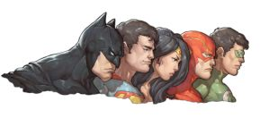 Justice League by Mick-cortes