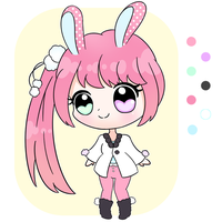 [CLOSED] Chibi Usagimimi Adopt by Cloudellie