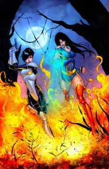 Grimm Fairy Tales 107B by StephenSchaffer