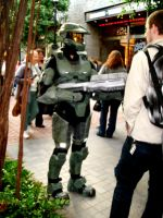 Master Chief Cosplay by morgoththeone
