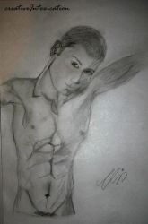 portait of hot male by creativeIntoxication