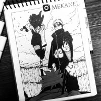Pain Vs Konoha - MEKANEL by Mekanel