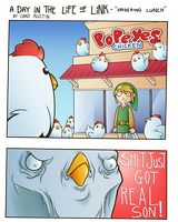A Day in the Life of Link - Out to Lunch by RandomFellow