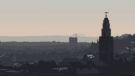 View of Cork from St. Patrick's hill by randomhuman