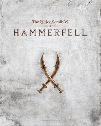 The Elder Scrolls VI: Hammerfell Cover Art by tyler-wetta