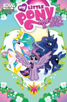My MLPFIM issue 38 RI cover by MaryBellamy