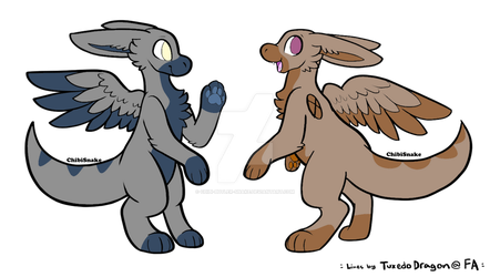 Angel Dragon adopt auction (open 2/2) by Chibi-Butler-Snake
