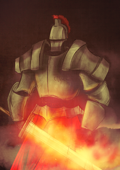 Knight by ThomasLean