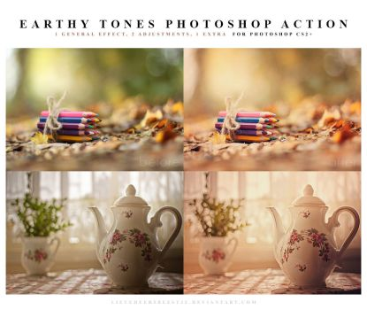 Earthy tones Photoshop Action by meganjoy