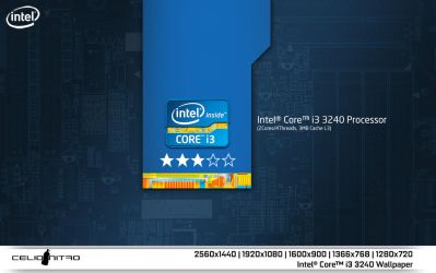Intel Core i3 3240 Wallpaper 01 by 18cjoj