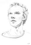 Hamlet sketch by Annocent