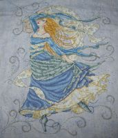 Air Goddess Cross Stitch by Tishounette