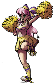 Cheerleader Cheerilee by TheArtrix