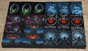 Mini Artomat Spacescapes 933-950 by crazycolleeny