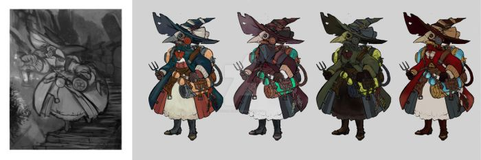 Lockwood - Character Design Works by vickie-believe