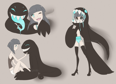 Parasite Adopt | Auction | CLOSED by kawaii-antagonist