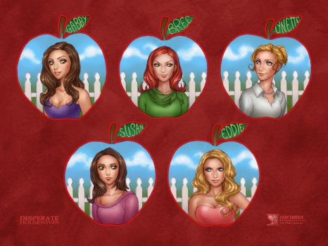 Desperate Housewives by daekazu