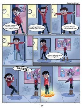 Tom Is A Force Of Evil: Chapter 1 Page 27 by midnightclubx