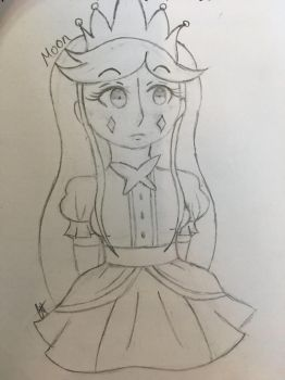 Young Moon sketch by catmat1008