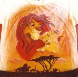 Lion king T-Shirt by howls-in-sorrow