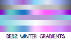 Debz Winter Gradients by debzdezigns-lamb68