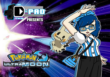 D-Pad Crew Pokemon Ultra Moon Title card by DBurch01
