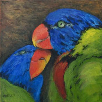Love Birds by mbeckett