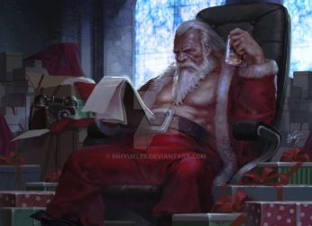 2014 Santa Claus's D-2day by inhyuklee